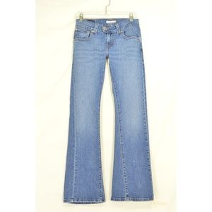 Levi 542 jeans 4 x 31 low slouch flap back pockets